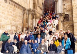 PIlgrims with Steve in Jerusalem 03-2007