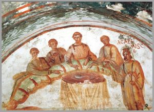 Early Christians celebrated the Eucharist as a sacrifice!