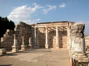 Day 5 Capernaum_synagogue_interior