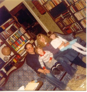 Janet and I During the Time we Spent Studying with Dr. Francis Schaeffer in Switzerland with our First Chrildren