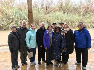 Jordan Group at Jesus' Baptism and the Crossing into Israel