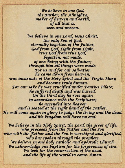 importance of the apostles creed