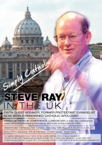 Steve Ray in the UK eposter