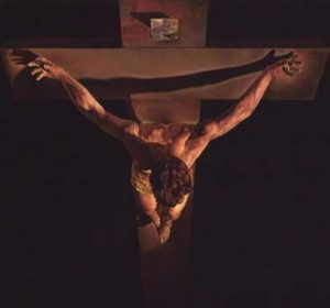 crucifixion-top-view