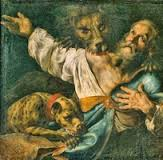 St. Ignatius of Antioch eaten by lions in 106 AD