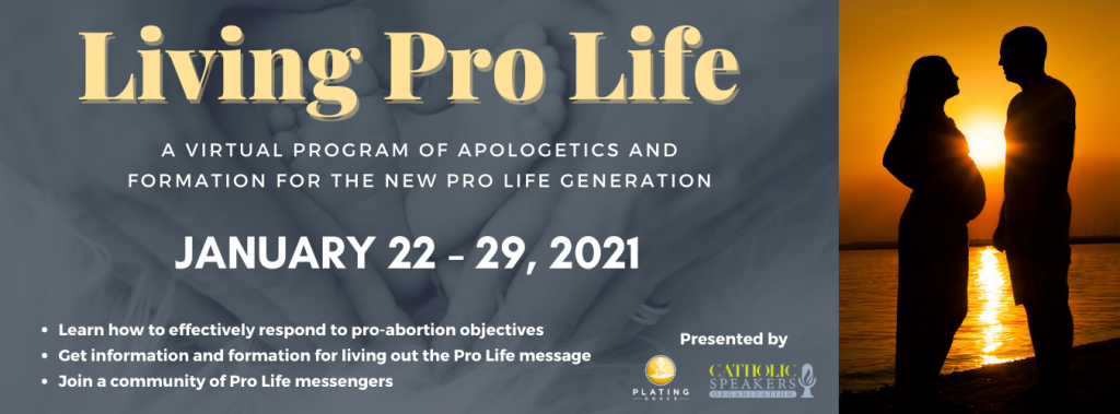 living pro life conference header