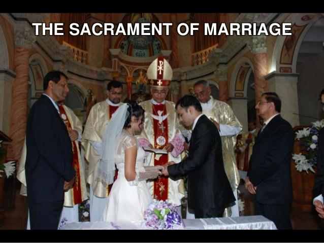 Non sacramental marriage