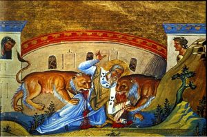 St. Ignatius of Antioch, martyred 106 AD